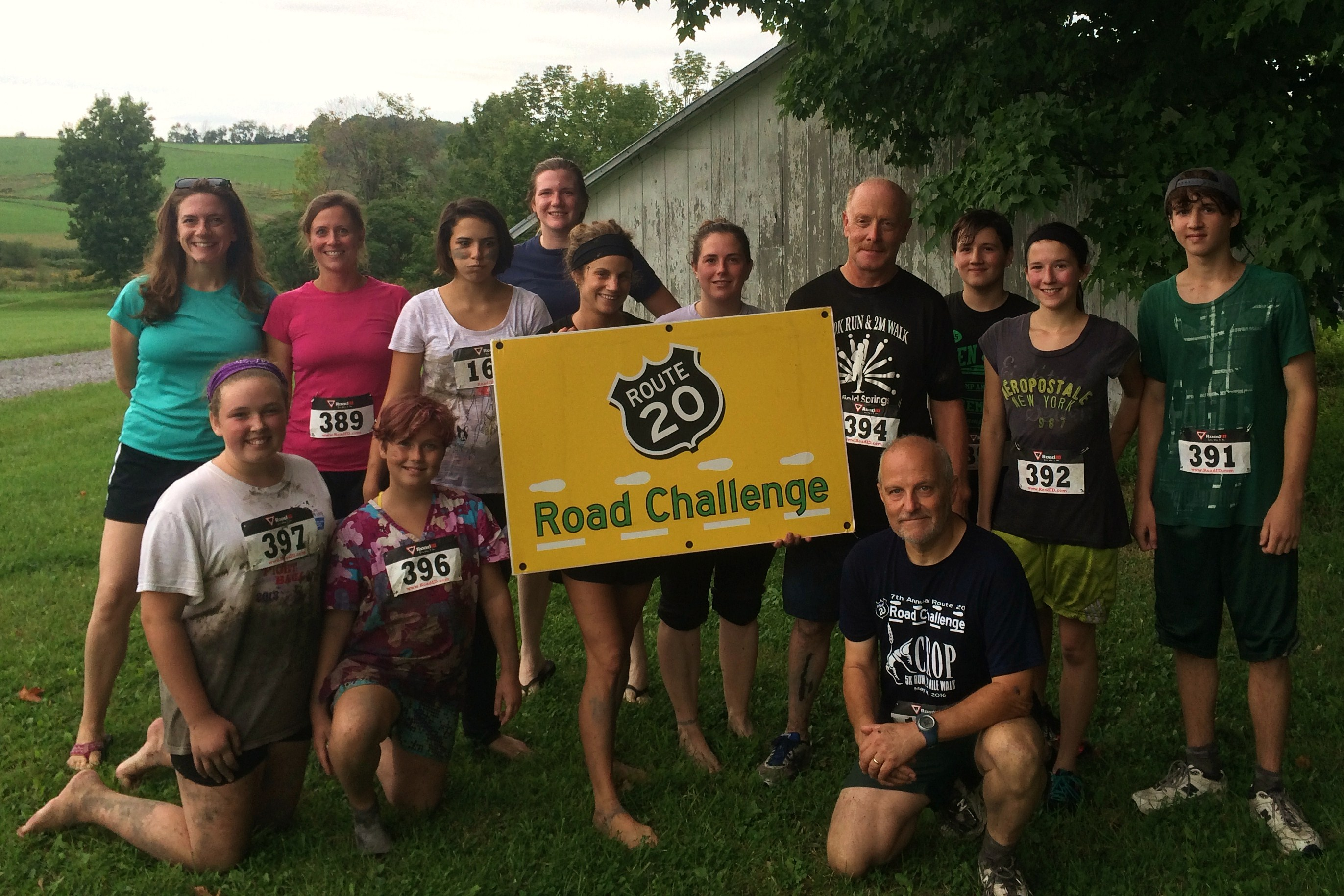Race Results for the FALLING FOOTSTEPS CROSS COUNTRY (MINI-MUDDER) 5K RUN, 1 MILE WALK