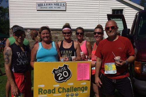 Race Results for MILLERS MILLS 5K SUNDAE RUN, 2 MILE FUN WALK