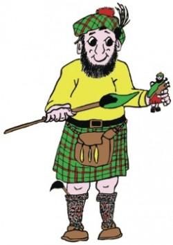 Plaide Palette of Celtic Art