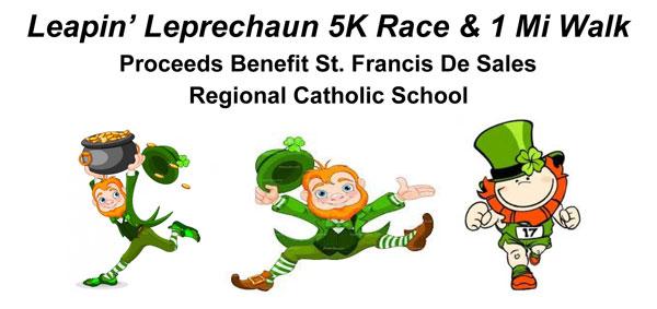 Leapin' Leprechaun 5K Race & 1 Mile Walk