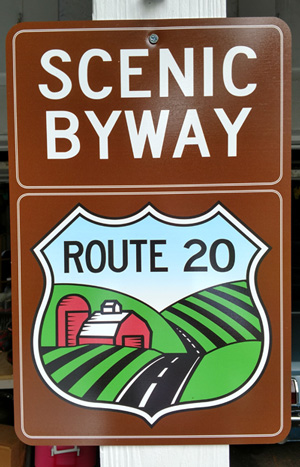 Route 20 Signs