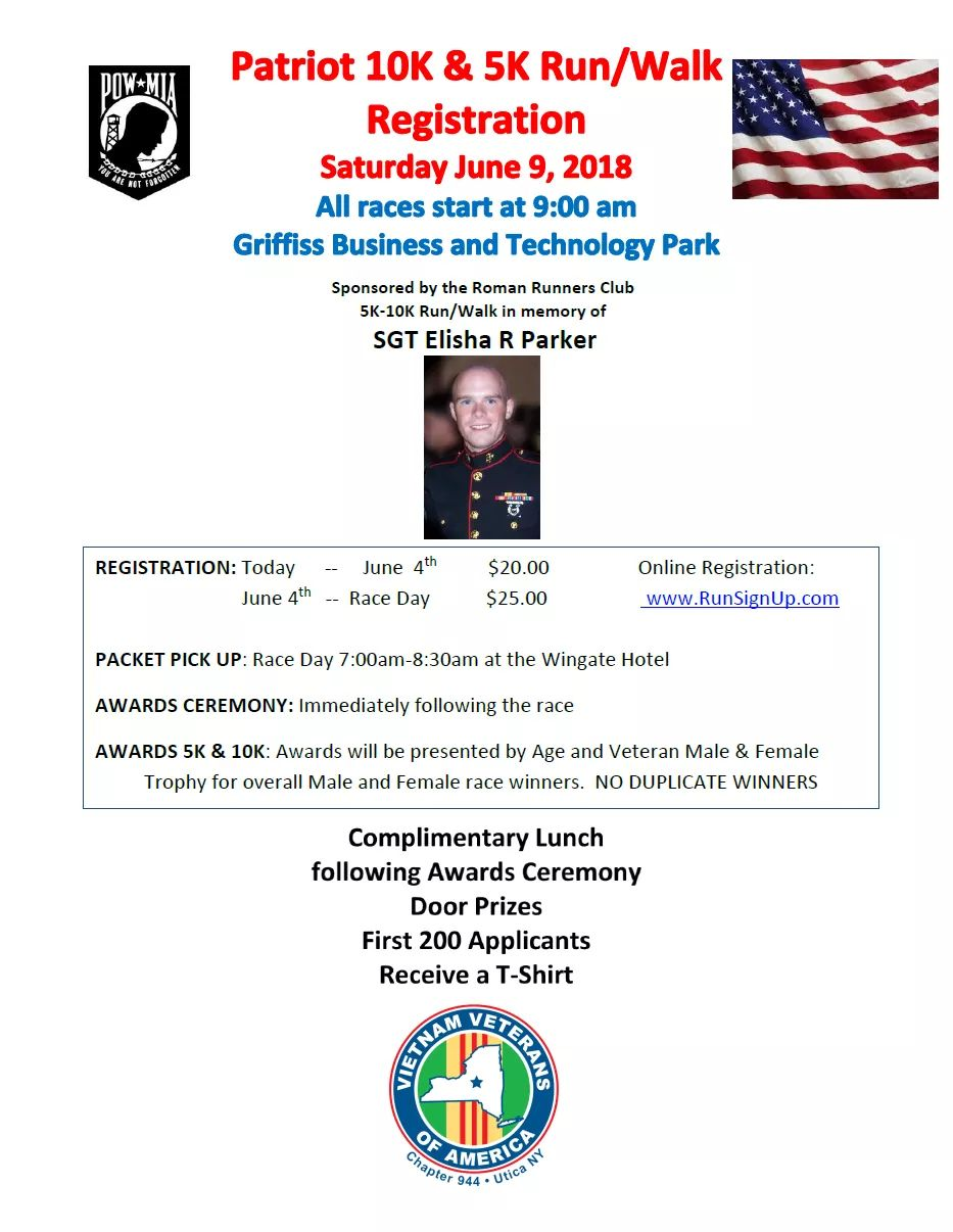 Patriot 10K & 5K Run / Walk