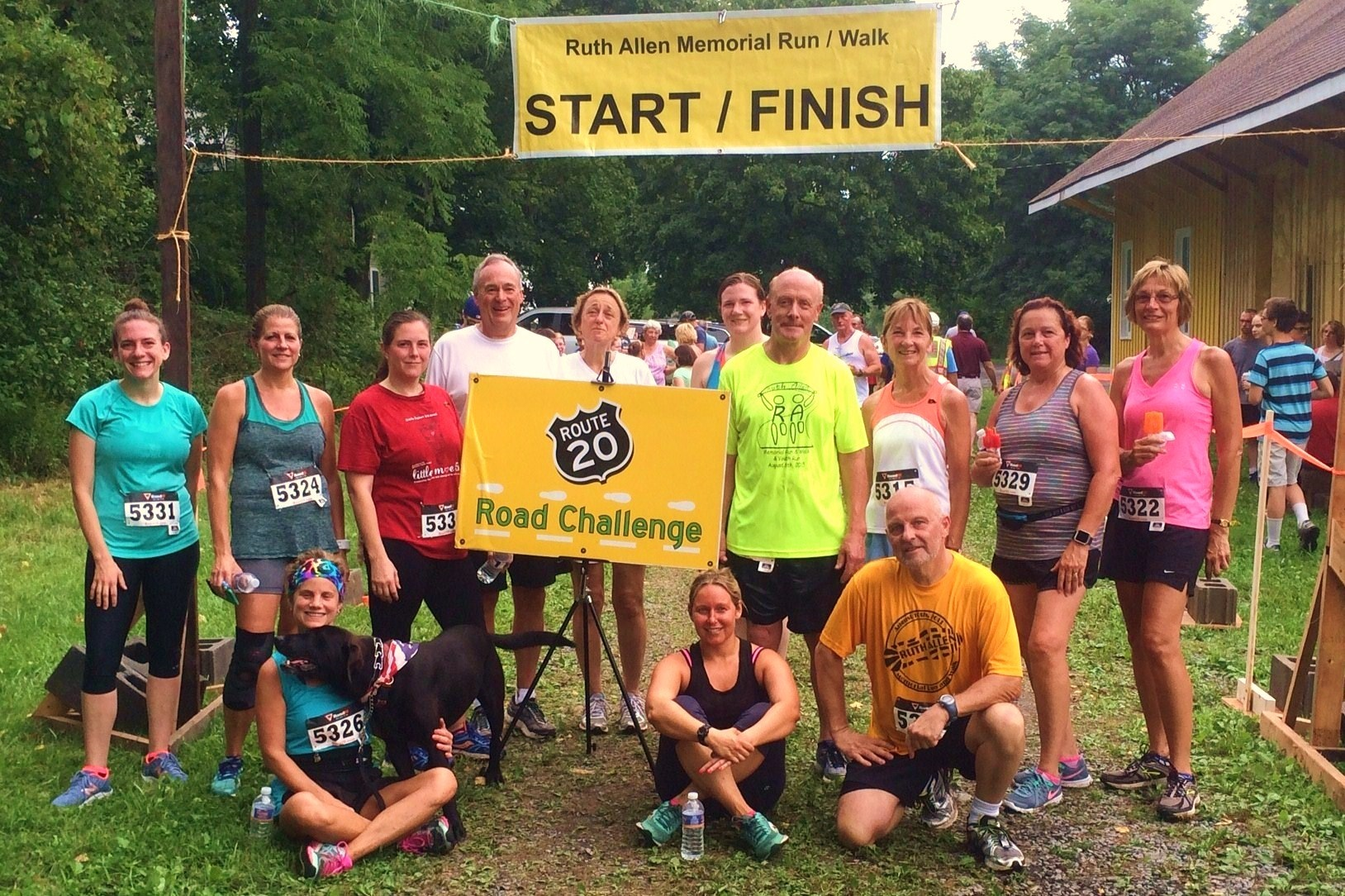 Race Results for the 7th Annual Ruth Allen Memorial Run