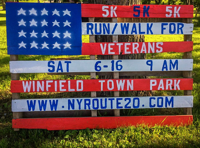 Race Results For The West Winfield 5K RUN / WALK FOR VETERANS