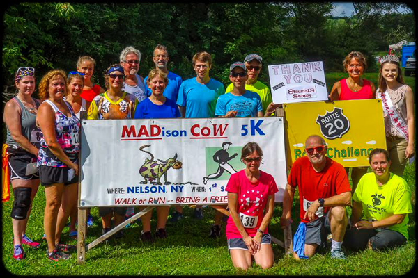 Results for THE 9TH ANNUAL MAD. CO.W 5K