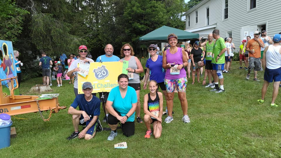 Results for the 2018 MILLERS MILLS SUNDAE RUN